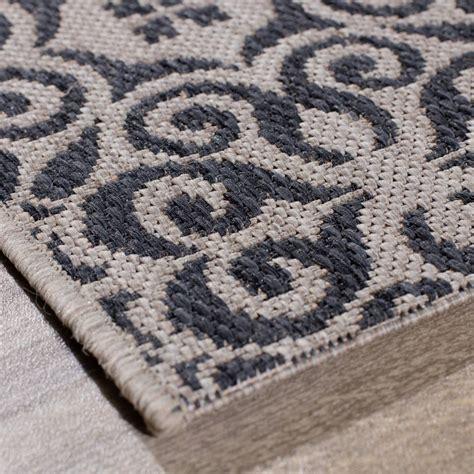 teppich ethno teppich modern ethno sand anthracite 120x170cm 120x170cm