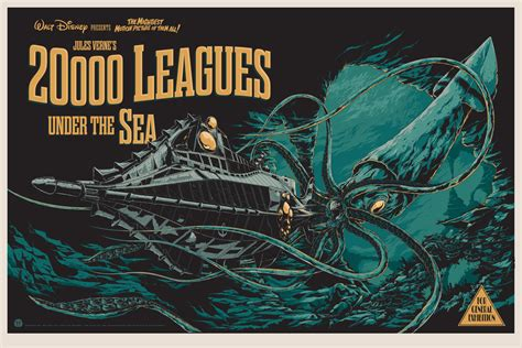 20 000 leagues under the sea by ken taylor mondo release 411posters