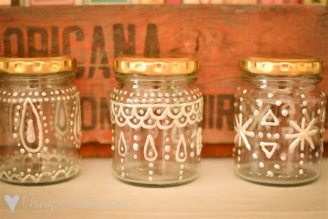 decorate a jar for loving decorated jars things