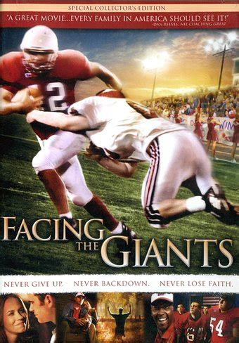 Watch Facing The Giants 2006 Facing The Giants Collector S Edition Dvd 2006 Starring Alex Kendrick Directed By Alex