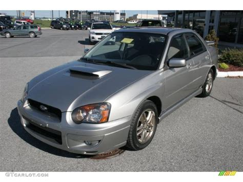 grey subaru impreza 2005 crystal grey metallic subaru impreza wrx sedan