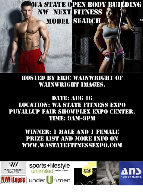 Wa State Search Wainwright Images Nw Model Search Entry Now Open Wa State Fitness Expo