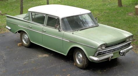green rambler car original 1960 amc rambler custom