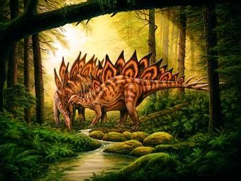 stegosaurus mate  forest  phil wilson