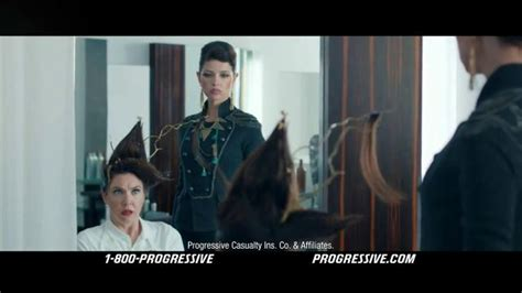 progressive commercial hairdresser actress progressive snapshot tv spot hairsalon ispot tv