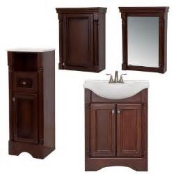 Bathroom Vanity With Linen Tower St Paul Valencia Bath Suite With 25 In Vanity Top Mirror Linen Tower Oj And Medicine