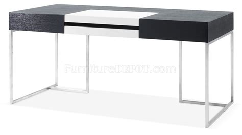 High Gloss White Office Desk S101 Modern Office Desk By J M In Oak W White High Gloss