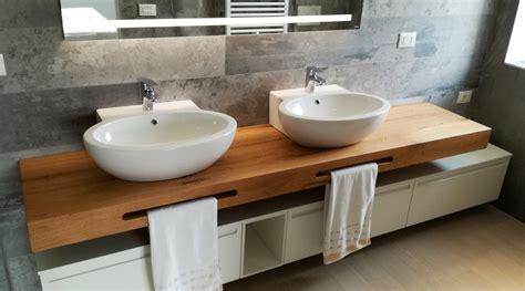 mobile con mensole mobile bagno doppio lavabo con mensola in legno
