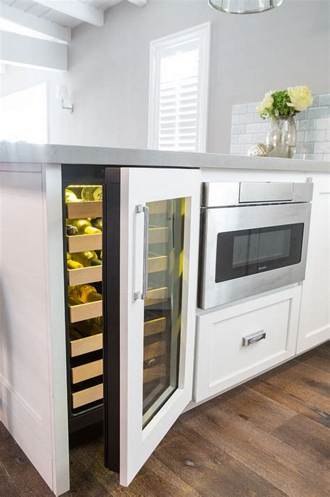 Wine Cooler Kitchen Cabinet 17 Best Ideas About Wine Fridge On Pinterest Wine Cooler Fridge Built In Wine Cooler And Wine