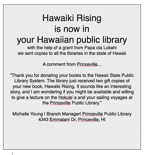 hawaiki rising h k le a nainoa thompson and the hawaiian renaissance books hawaiiki rising
