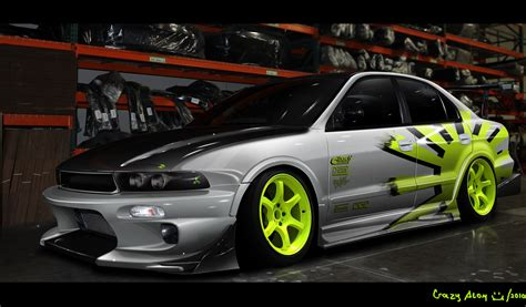 mitsubishi modified wallpaper galant g8 high res wallpapers