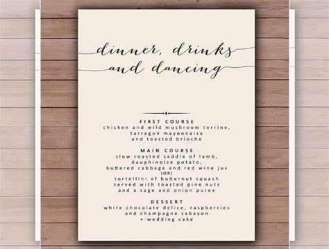 Dinner Menu Templates 36 Free Word Pdf Psd Eps Indesign Format Download Free Premium Dinner Menu Template