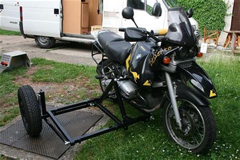 Motorrad Zubehör Günstig gespannbau bmw r1100gs mit tripteq heeler seitenwagen