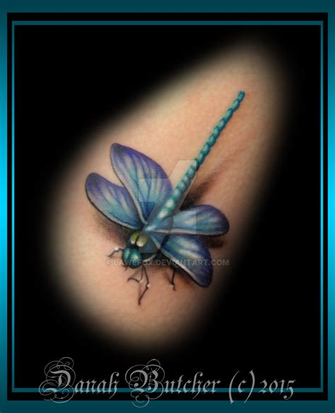 dragonfly tattoo by lawlfox on deviantart