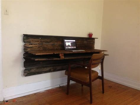 Rustic Desk Ideas Rustic Floating Desk And Chair New Office Space Floating Desk Desks And Tags