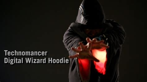 Hoodie Technomancer technomancer digital wizard hoodie from thinkgeek