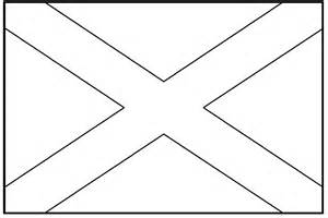 Scottish Outline by Scotland Flag Coloring Page Coloring Home