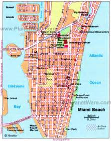 Map Of Miami Area by Miami Beach Area Map High Quality Maps Of Miami Beach Area