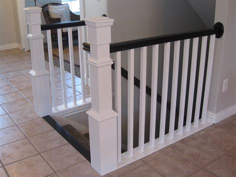 stairwell banister tda decorating and design diy stair banister tutorial
