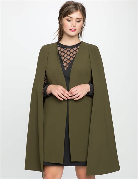 Cape Blazer Jacket Jaket 5 plus size capes that will asking where did you get that stylish