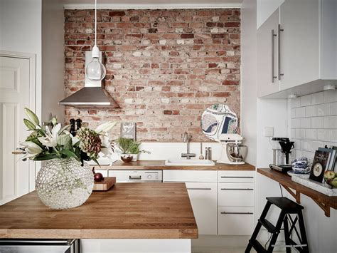 best 25 exposed brick kitchen ideas on pinterest brick wall brick bella casa design fantastic kitchen design with exposed brick