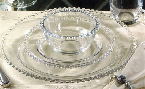 glass beaded plates plain beaded glass charger plate 33cm catering