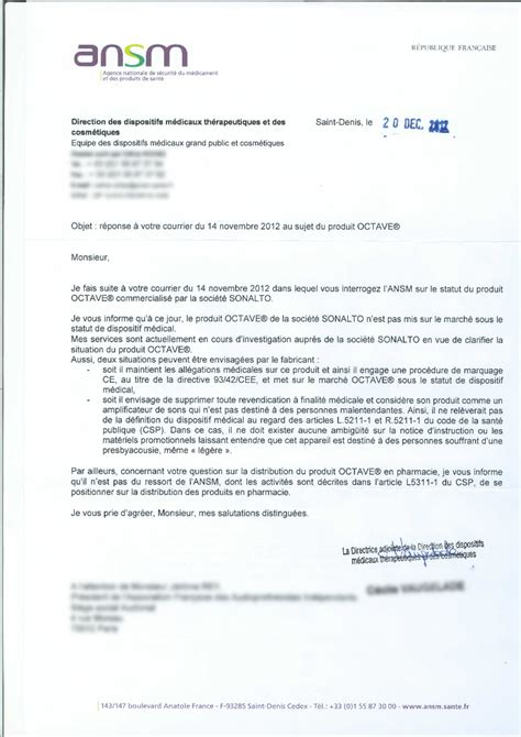 Exemple De Lettre Commerciale Bricedebrest Audioproth 233 Siste