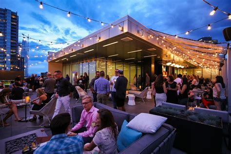 pits denver 54thirty denver s highest rooftop bar has pits to keep patio season burning into fall