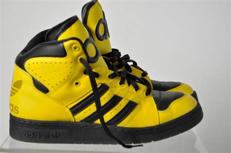 adidas black yellow basketball shoes size 11 5 ebay