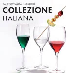 bicchieri coop coop collezione italiana calici a sostegno della