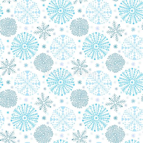 new year background paper snowflakes seamless pattern winter background decoration