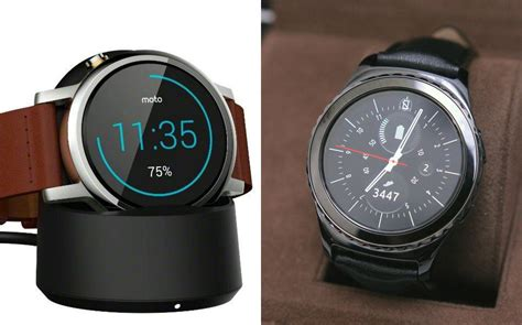 Samsung Gear S2 By Pasarhape moto 360 2015 vs samsung gear s2 simili fuori e