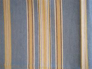 fabric home decor upholstery stripe blue by nappinghousestudio