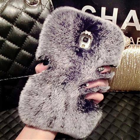 Softcase Squishy Squeeze Rabbit Soft Cover Casing Iphone 6 6s aliexpress buy fashion luxury bling rabbit fur warm soft cover for iphone x 4s 5s 5c