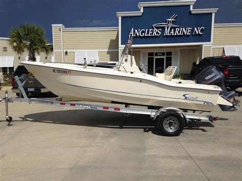 1999 used scout 175 sportfish center console fishing boat - Scout Boats 175 Sportfish For Sale