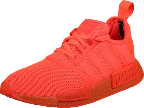 adidas nmd r1 shoes orange neon