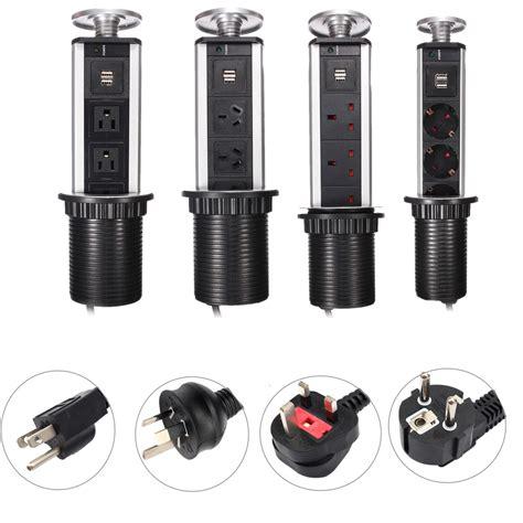 Kitchen Island Outlets worktop kitchen tensile power outlet usb pop up socket eu