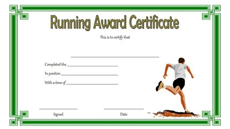running certificates templates free running certificate 4 the best template collection