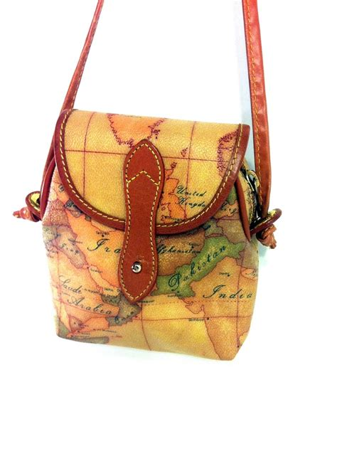 3 5 Bag Fashion 2948 alviero martini leather map bag authentic alviero martini prima classe mini crossbody pouch