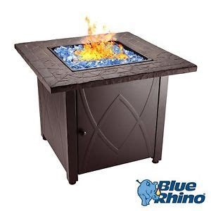 outdoor propane gas pit blue rhino outdoor propane gas pit blue fireglass