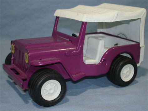 Tonka Jeep Mini Tonka Purple Buggy Pressed Steel Jeep 1042