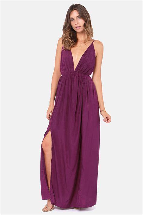 Titania Maxi 1 purple dress maxi dress backless dress 45 00
