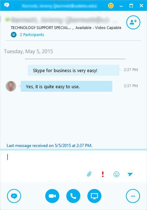 skype for business basics