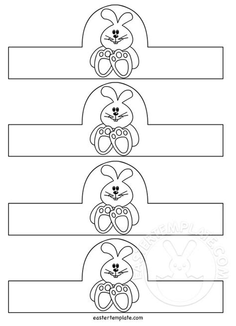 easter egg holders easter template