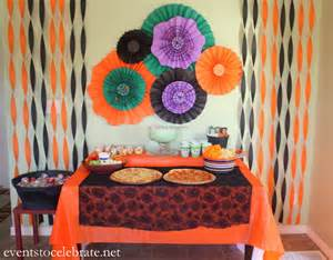 Decorations Halloween Party Easy Halloween Party Decorations Events To Celebrate