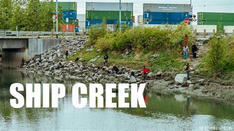 ship creek ship creek anchorage ak sony a6300 youtube
