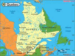 Canada Map Montreal Quebec by Quebec Travel Maps Of Quebec