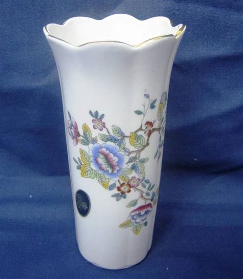 aynsley butterflies bone china small vase ebay