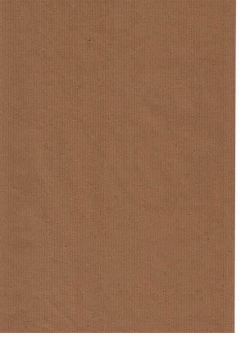 Craft Brown Paper - brown paper ribbed 90gsm recycled kraft a4 x 100 sheets