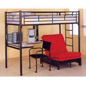 size workstation loft bed with desk and convertible